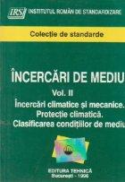 Incercari de mediu, Volumul La II-lea