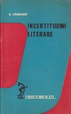 Incertitudini literare