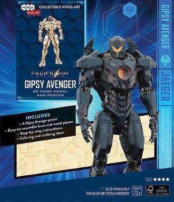 IncrediBuilds: Pacific Rim Uprising: Gipsy Avenger 3D Wood M