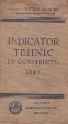 Indicator tehnic in constructii