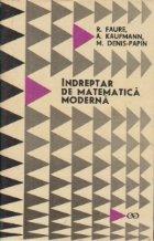Indreptar matematica moderna