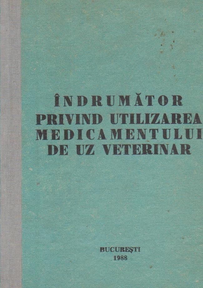Indrumator privind utilizarea medicamentului de uz veterinar
