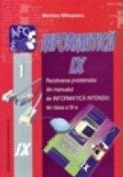 Informatica clasa a IX-a. Rezolvarea problemelor din manualul de Informatica Intensiv de clasa a IX-a