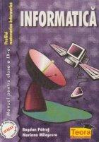 Informatica - Manual pentru clasa a IX-a (Profilul matematica - informatica)