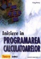 Initiere in programarea calculatoarelor