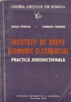 Institutii de drept economic si comercial - Practica jurisdictionala