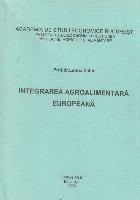 Integrarea agroalimentara europeanaa