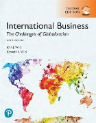 International Business: The Challenges of Globalization, Glo