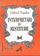 Interpretari restituiri