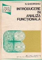 Introducere analiza functionala