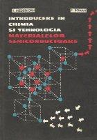 Introducere in chimia si tehnologia materialelor semiconductoare