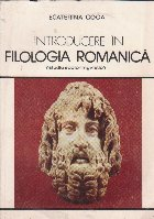 Introducere in filologia romanica
