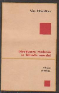 Introducere moderna in filozofia moralei