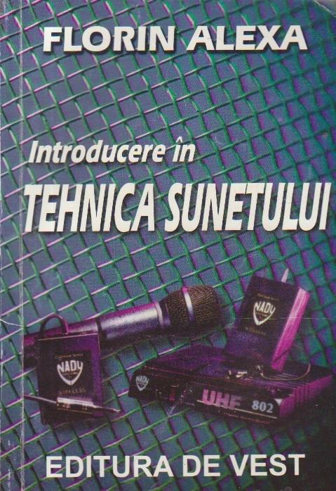 Introducere in tehnica sunetului