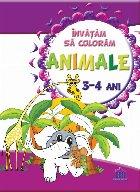 Invatam sa coloram - Animale - 3-4 Ani