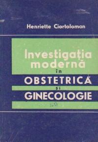 Investigatia moderna in obstetrica si ginecologie