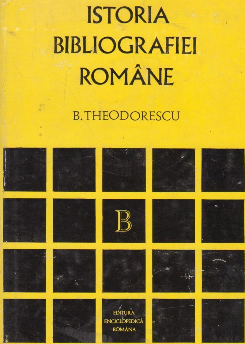 Istoria Bibliografiei Romane