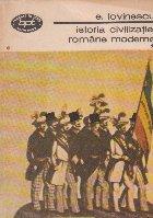 Istoria civilizatiei romane moderne, Volumele I, II și III