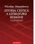 Istoria critica literaturii romane secole
