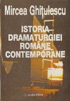 Istoria dramaturgiei romane contemporane