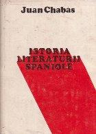 Istoria literaturii spaniole