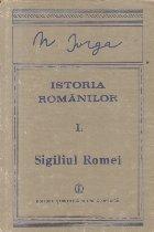 Istoria romanilor, Volumul I Partea a II-a - Sigiliul Romei