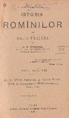 Istoria Rominilor din Dacia Traiana, Volumul VII - De la Matei Basarab si Vasile Lupu pina la Constantin Brancoveanu 1633 - 1689