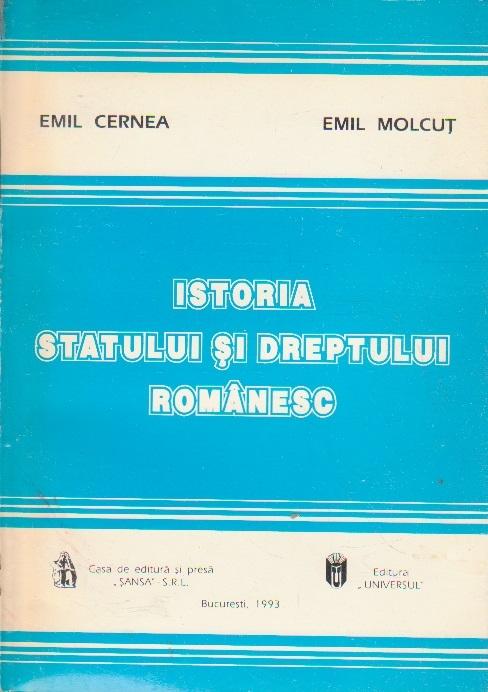 Istoria statului si dreptului romanesc, Editia a III-a