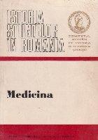 Istoria stiintelor in Romania - Medicina