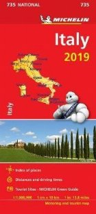 Italy 2019 - Michelin National Map 735