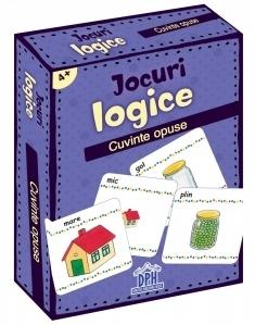 Jocuri logice. Cuvinte opuse