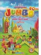Jumbo 80 - Carte de colorat cu animale, fructe, legume si abtibilduri