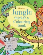 Jungle sticker and colouring book
