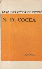 Jurnal - N. D. Cocea