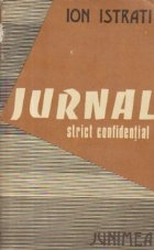 Jurnal strict confidential