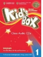 Kid's Box Level 1 Class Audio CDs (4) British English 2nd Edition