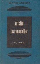 Kristin Lavransdatter, Volumul I - Cununa