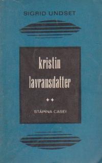 Kristin Lavransdatter, Volumul al II-lea  Stapina casei