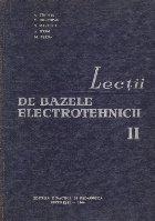 Lectii de Bazele Electrotehnicii, Volumul al II-lea