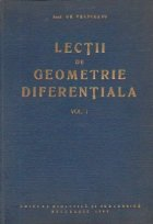 Lectii geometrie diferentiala Volumul