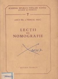 Lectii de nomografie