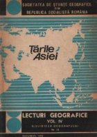 Lecturi geografice, Volumul al IV-lea - Tarile Asiei