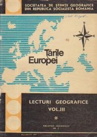 Lecturi geografice, Volumul al III-lea - Tarile Europei