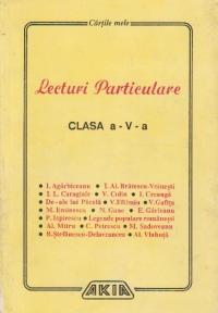 Lecturi particulare, clasa a V - a