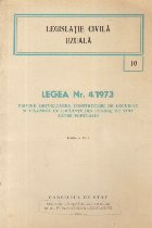Legea nr. 4/1973 privind dezvoltarea constructiei de locuinte si vinzarea de locuinte din fondul de stat catre populatie, Editia a IV-a
