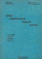 Legea administratiei publice locale