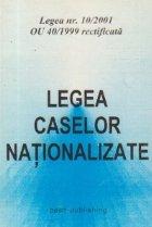Legea caselor nationalizate - Legea nr. 10/2001 OU 49/1999 rectificata