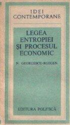 Legea entropiei procesul economic