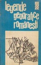 Legende geografice romanesti