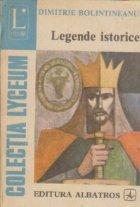 Legende istorice - Poezii
